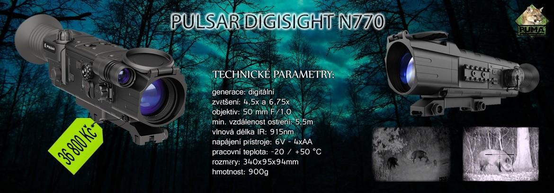 Digitální noční vidění Plzeň