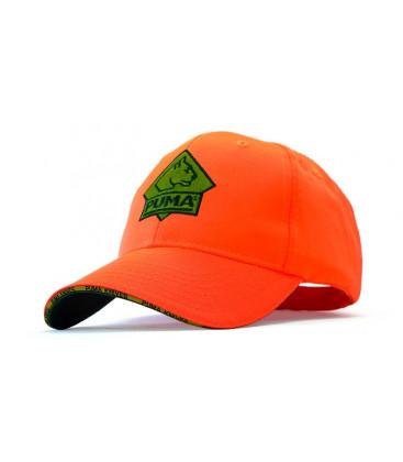 Čiapka logo  PUMA neon orange