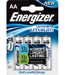 Baterie Energizer Ultimate AA 4ks