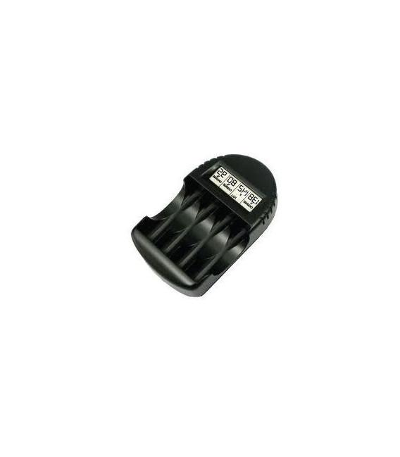 Nabíječka baterií řízená procesorem, 1-4ks NiCd/NiMH aku AA, AAA