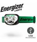 Čelovka Energizer Vision ultra nabíjecí USB 400 lumens