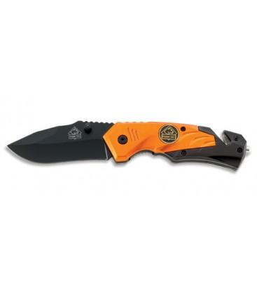 PUMA TEC Einhand-Rettungsmesser (orange)