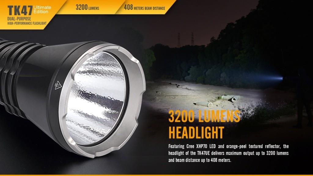 LED svítilny Fenix